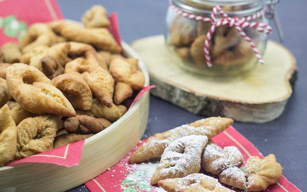English Enjoying Danish Delights Klejner Cookies During Christmas