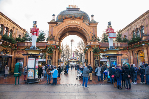 Winter Season in Tivoli Gardens